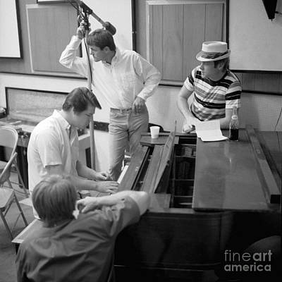 The Beach Boys Party Lp Recording Sessions. Poster by The Titanic Project