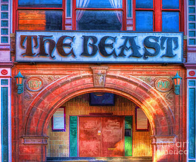 The Beast Poster by L Wright