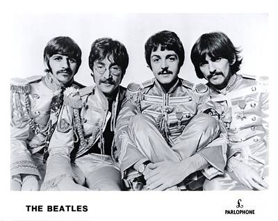 The Beatles As Sgt. Pepper's Lonley Hearts Club Band Poster