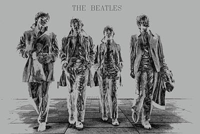 The Beatles Poster by Kevin Elias