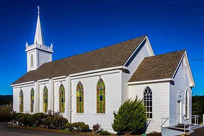 The Beautiful Bodega Church St. Teresas Of Avila  Poster by Garry Gay