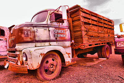 Poster featuring the photograph The Beauty Of An Old Truck by Jeff Swan