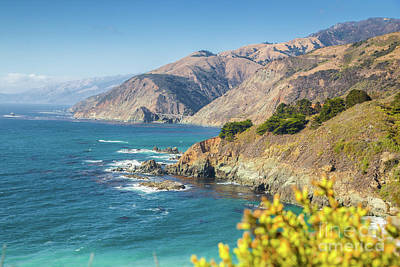 The Beauty Of Big Sur Poster by JR Photography