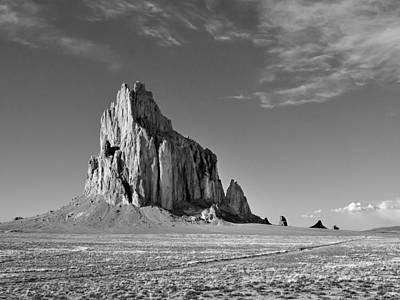 The Beauty Of Shiprock Poster by Alan Toepfer