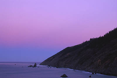 The Beginning Of The Lost Coast Poster by Soli Deo Gloria Wilderness And Wildlife Photography