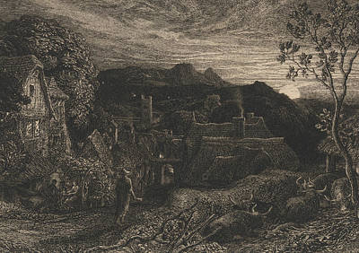 The Bellman Poster by Samuel Palmer