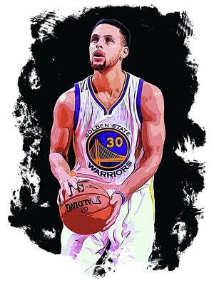 The Best Shooter - Steph Curry Poster