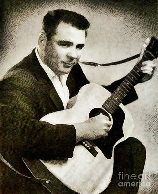 The Big Bopper, Music Legend By John Springfield Poster