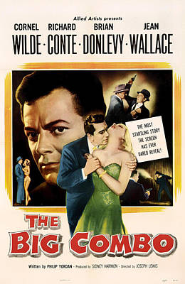 The Big Combo 1955 Poster by Mountain Dreams