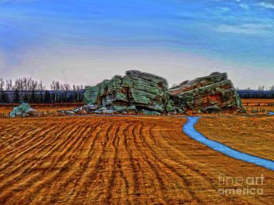 The Big Rock - Hdr Poster