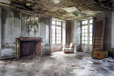 The Big Room - Abandoned Castle Poster by Dirk Ercken