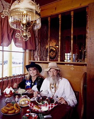 The Big Texan Restaurant, Amarillo, Texas Poster by Carol M Highsmith