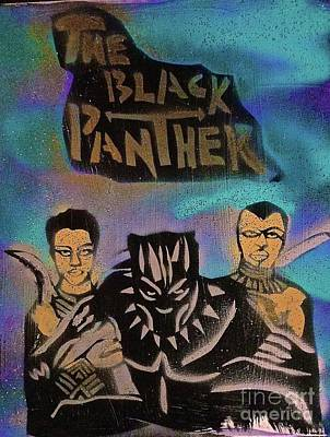 The Black Panther And Friends Poster