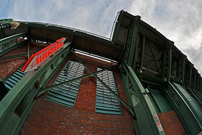 The Bleacher Bar At Fenway Park In Boston Poster by Toby McGuire