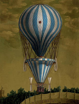The Blue Balloon Poster