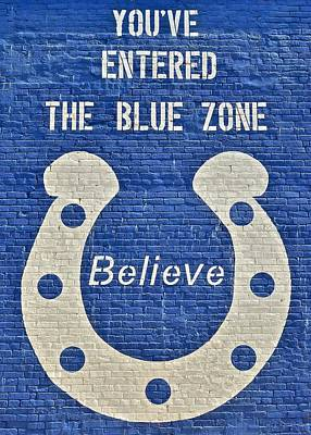The Blue Zone Poster by Frozen in Time Fine Art Photography