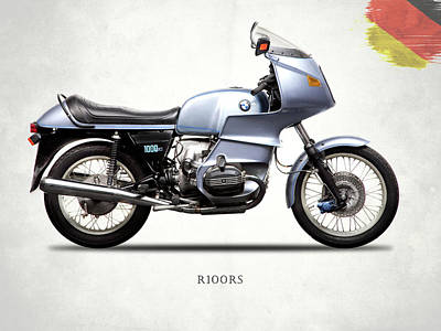 The Bmw R100rs 1977 Poster by Mark Rogan