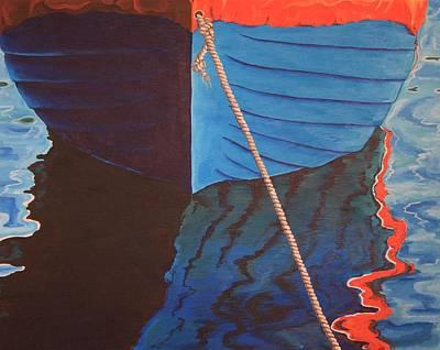 The Boat Poster by Jennifer Lynch