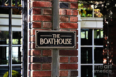 The Boathouse Poster by Nishanth Gopinathan