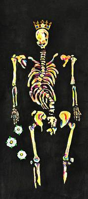 The Bones Of Richard IIi Poster by Jill Jacobs
