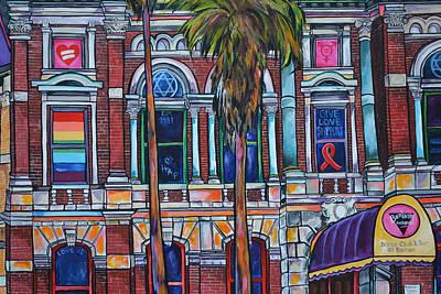 The Bonham Exchange Close Up Poster by Patti Schermerhorn