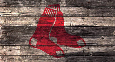 The Boston Red Sox W1 Poster by Brian Reaves