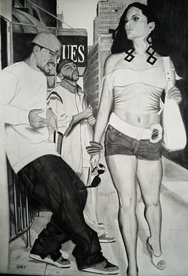 The Boulevard Strut Poster