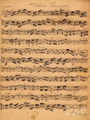 The Brandenburger Concertos Poster by Johann Sebastian Bach