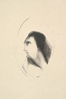The Breadth And Flatness Of The Frontal Bone Poster by Odilon Redon