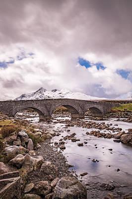 The Bridge At Sligachan On Skye Poster