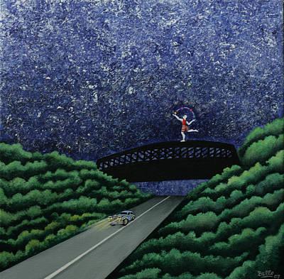 The Bridge II Poster by Graciela Bello