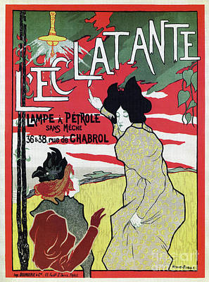 The Brilliant 1895 French Art Nouveau Ad Poster