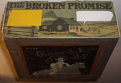The Broken Promise Poster by William Douglas