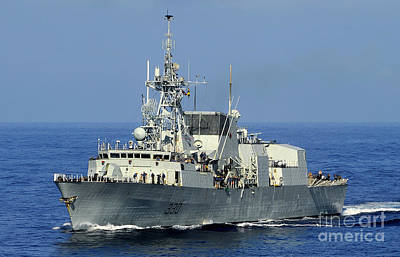 The Canadian Patrol Frigate Hmcs Poster