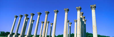 The Capitol Columns Of The United Poster