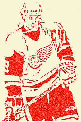 The Captain - Steve Yzerman Poster