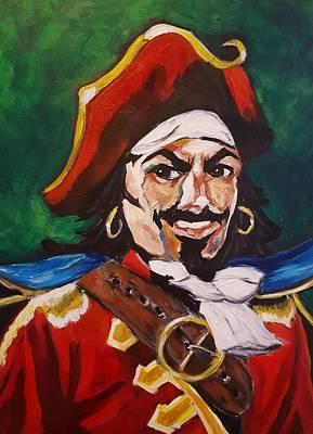 The Captain Poster by Sherri Spence