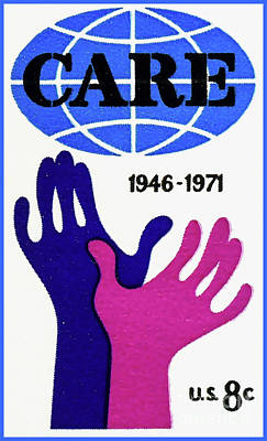 The Care Stamp Poster