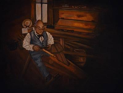 The Carpenter Poster by Regina Brandt