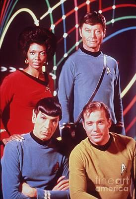 The Cast Of Star Trek Poster