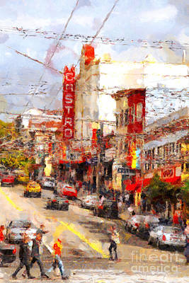 The Castro In San Francisco . 7d7572 Poster