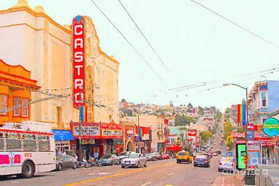 The Castro In San Francisco Poster
