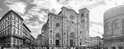 The Cattedrale Di Santa Maria Del Fiore, Italy Poster by David Ortega Baglietto