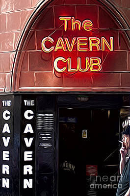 The Cavern Club Poster by Andrew Michael