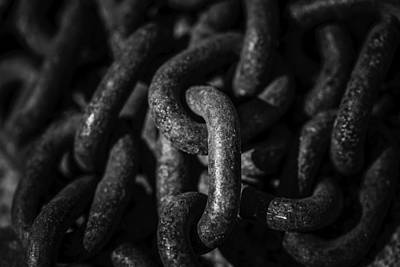 Poster featuring the photograph The Chains That Bind Us by Jason Moynihan