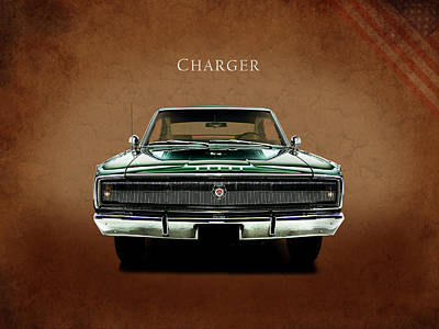 The Charger Poster by Mark Rogan