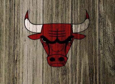 The Chicago Bulls C7                           Poster by Brian Reaves