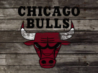 The Chicago Bulls W10 Poster by Brian Reaves