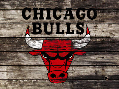 The Chicago Bulls W12 Poster by Brian Reaves