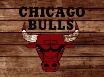 The Chicago Bulls W8 Poster by Brian Reaves